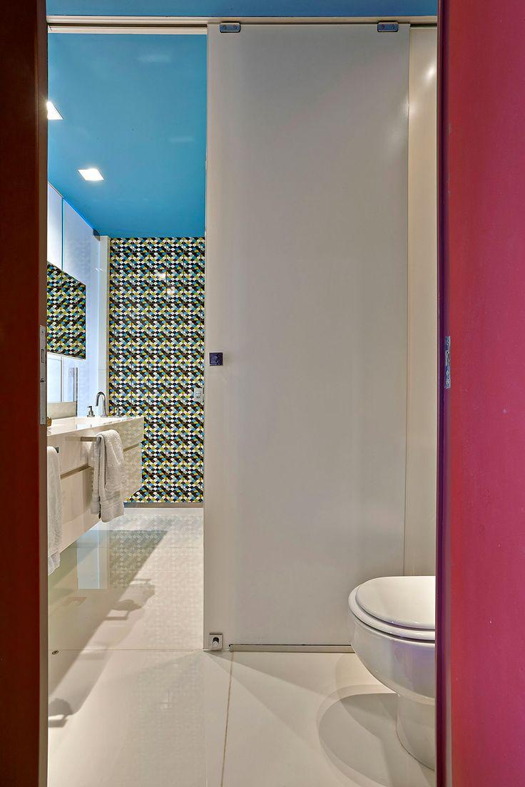 199 best bathroom images on pinterest bathroom interior design apartment shiny plus colorful bathroom interior decoration with white tile floor also vanity mirror added