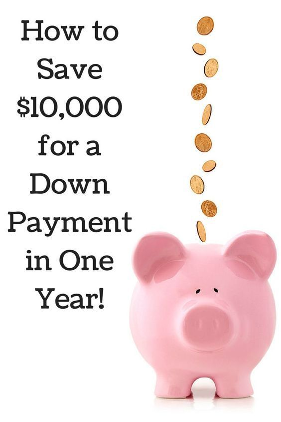 Save $10,000 for a down payment on a new home in just one year with these simple money-saving strategies!