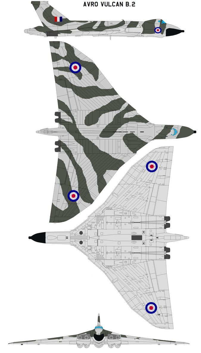 Avro Vulcan B.2 The Avro Vulcan is a delta wing subsonic jet bomber that was operated by the Royal Air Force from 1953 until 1984. The Vulcan was part of the RAF's V bomber force, which fulfilled t...