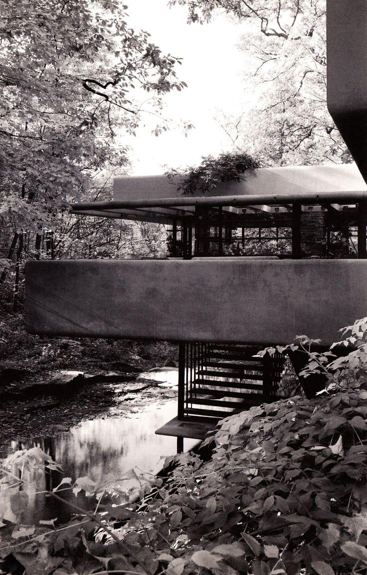 FRANK LLOYD WRIGHT, Fallingwater / Kaufmann Residence, 1935, Pennsylvania.
