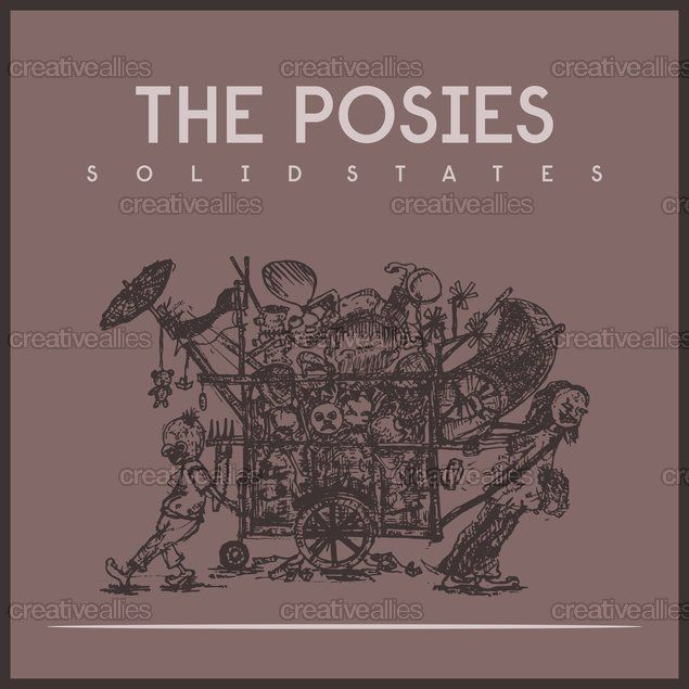 The Posies Album Cover by amo  on CreativeAllies.com