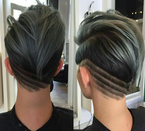 46 Edgy Kids Mohawk Ideas That They Will Love: Best 25+ Women's Shaved Hairstyles Ideas On Pinterest