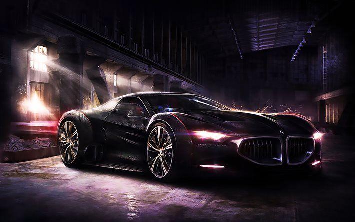 Descargar fondos de pantalla BMW 8 Series de 2017, los coches, el arte, la optimización, el BMW 8, supercars, BMW