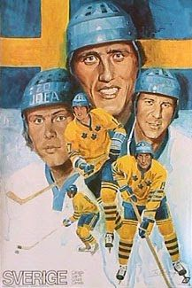1976 Canada Cup posters -Team Sweden - Google Search