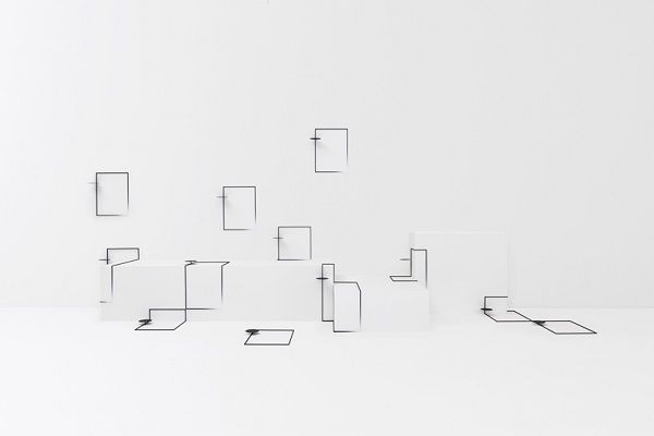 An Ultra-Minimalist Table By Nendo Designed For 'Troublesome' Spaces At Home - DesignTAXI.com