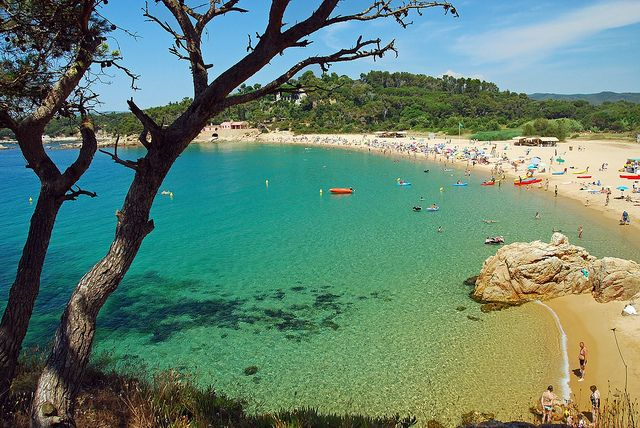Platja de Castell,Palamos,Girona,Spain | Flickr - Photo Sharing!