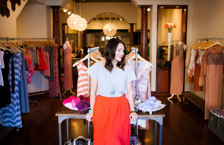 Kendi Sheen of the style blog Kendi Everyday, and boutique owner of Bloom.