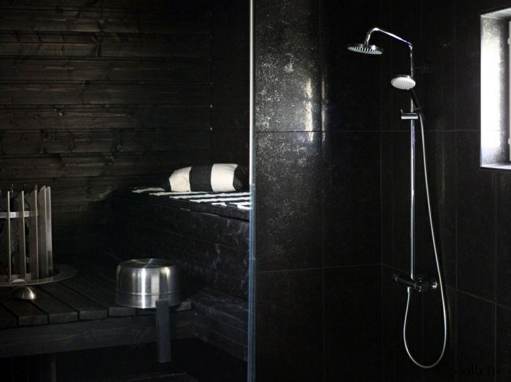 sauna, bathroom