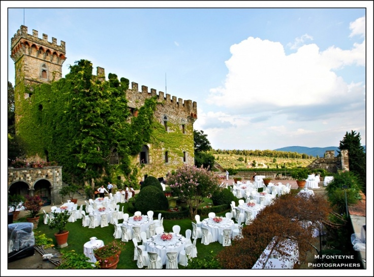 Castello di tornano wedding hairstyles