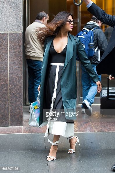 News Photo : Actress Priyanka Chopra is seen in the West...