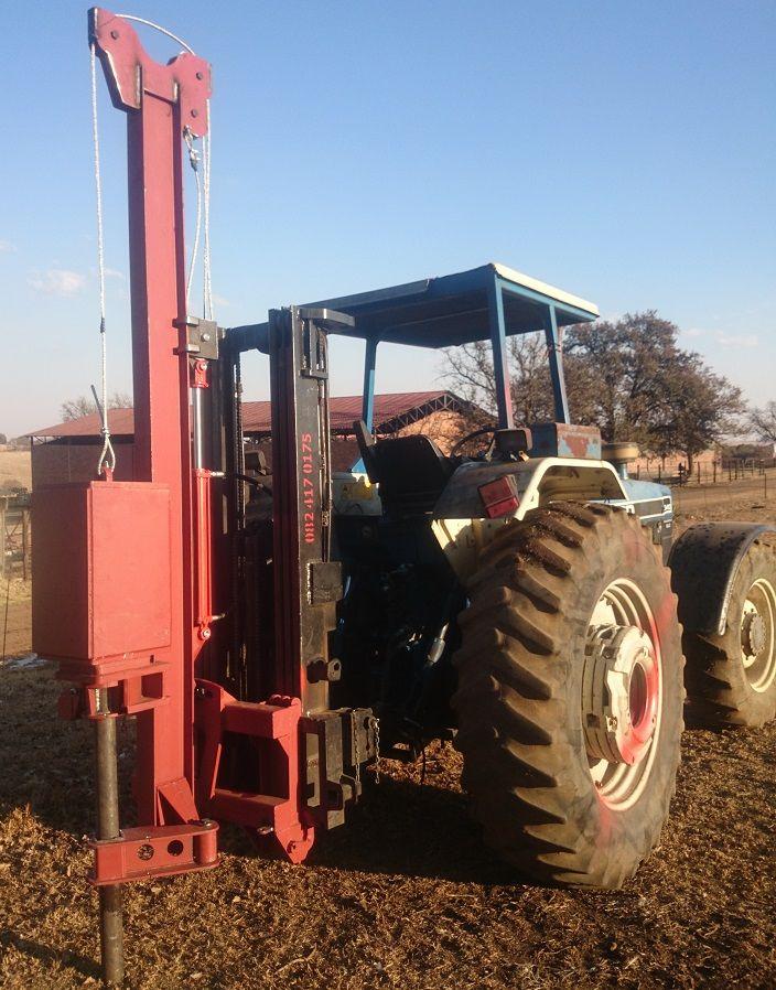 Paalslaner - Postdriver - Myburgh Toerusting R 55 000 + vat