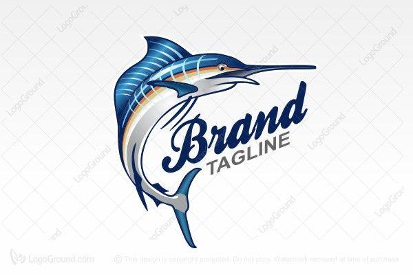 Logo for sale: Flying Sailfish Logo