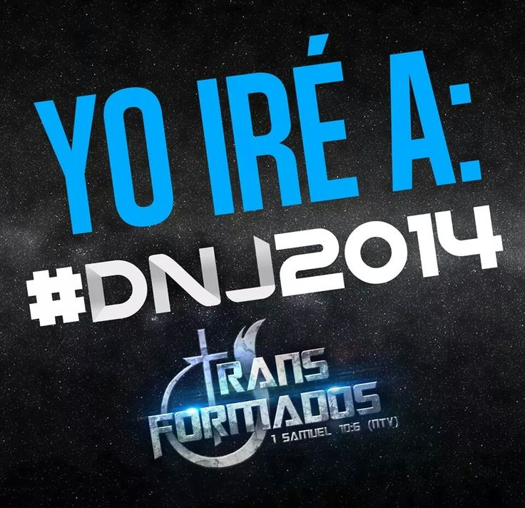 Yo ire a #DNJ2014 #Transformados 20 De Julio Santa Lucia Cotzumalguapa