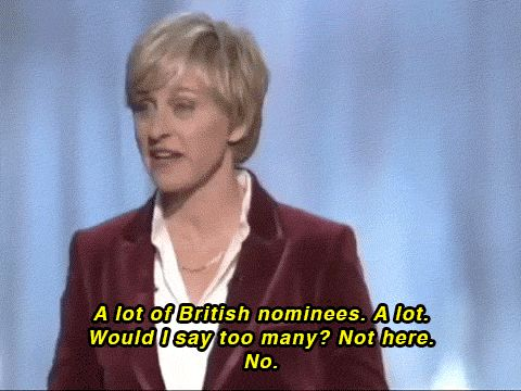 She also brings her intelligence whenever she hosts The Oscars. | What's Your Favorite Ellen Degeneres Quote?