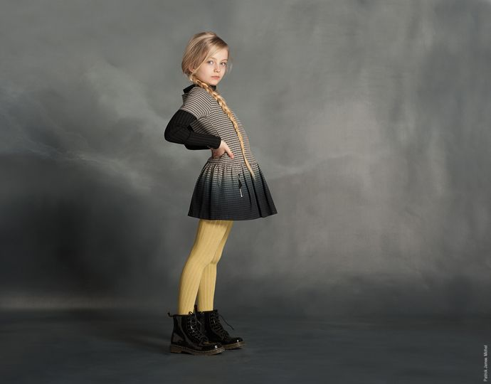 5 - Pied de Poule by Lili Gaufrette. #kids #kidstyle #kidsfashion