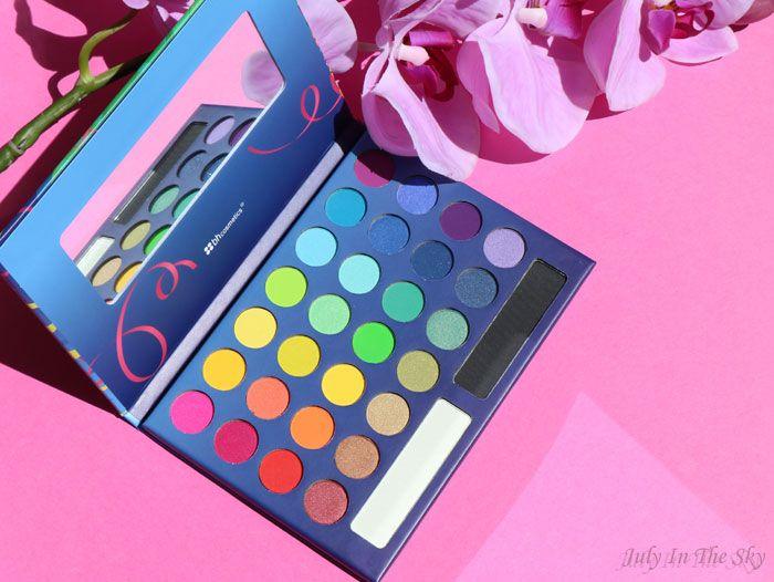 July In The Sky, mon blog Beauté et Photo : BH Cosmetics : la palette Take Me To Brazil