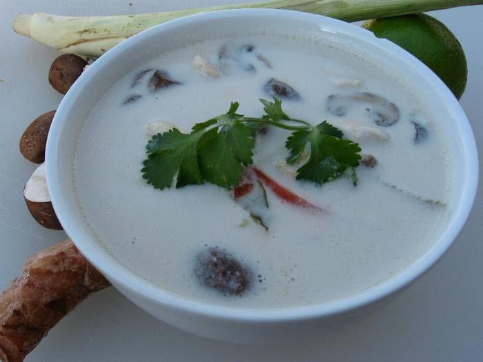 Thai chickken coconut soup