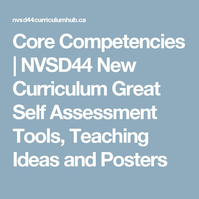 Best Competencies Images On   Core Competencies