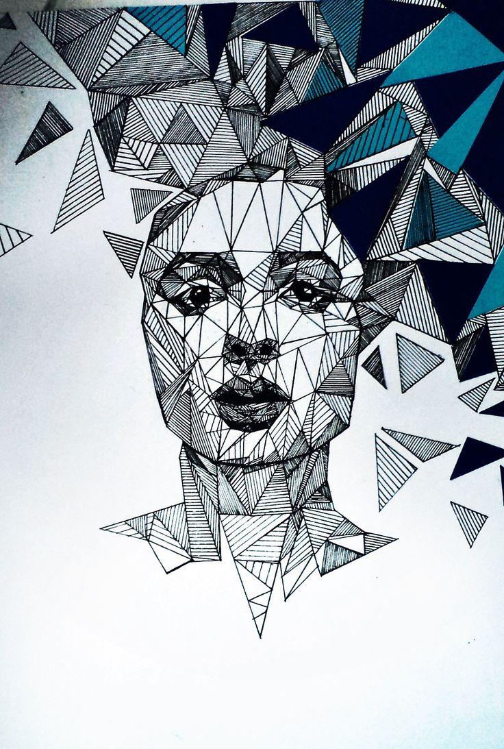 Крутые картинки из геометрических фигур