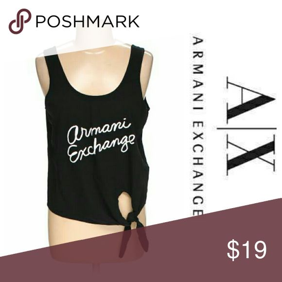 Armani exchange top **NWT** love this top super cute and light weight for spring. Armani Exchange Tops Tank Tops