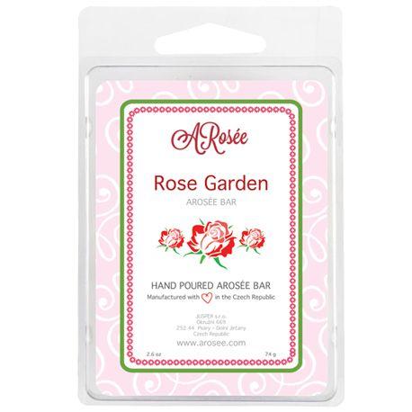 Vonný vosk do aromalampy s vůní červené růže. Scented soy wax ARosée Bar. Home decor. Domácí dekorace. www.arosee.com