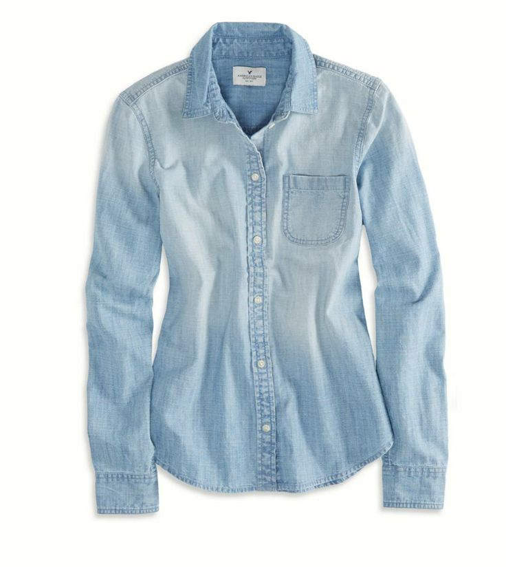 So a chambray shirt can generally be considered a more versatile choice for both work and play. And because, more often than not, chambray is a more lightweight fabric option – it's also a more appropriate style choice for warmer times of the year.