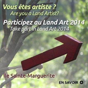 Vous êtes artiste ? Participez au Land Art 2014 à Cannes – Are you a Land Artist? Take part in Land Art 2014 in Cannes