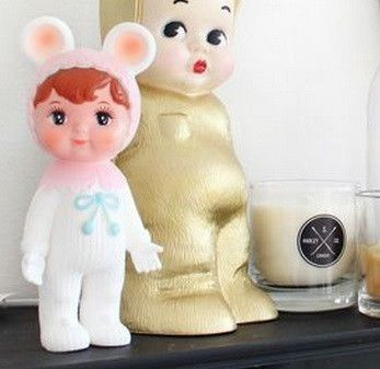 Lapin and Me Snow Baby Pale Pink
