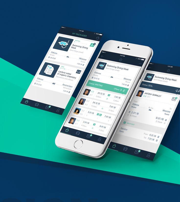 Ознакомьтесь с этим проектом @Behance: «Postman – App for package delivery» https://www.behance.net/gallery/33673476/Postman-App-for-package-delivery