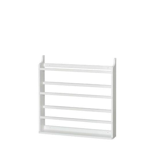 Tallrikshylla, vit, Oliver Furniture,