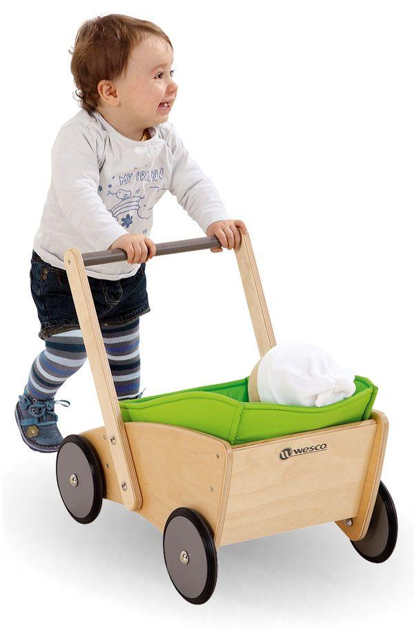 Chariot de marche pour l'apprentissage de la marche à partir de 9 mois - Wesco