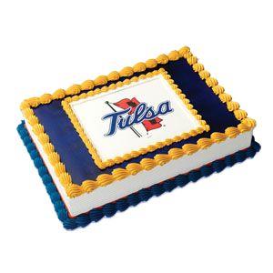 University of Tulsa Hurricanes Edible Image Cake Topper ...