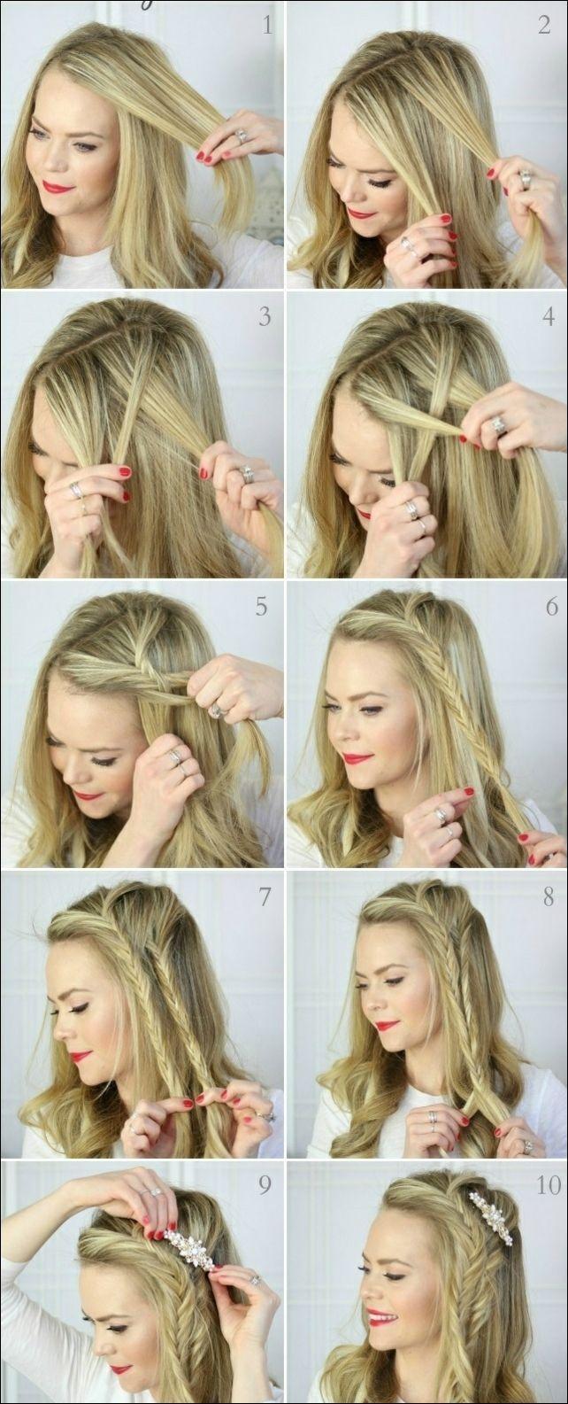Nice braiding hair long hair tips 2018   Hairstyle trend   Hairstyles women #styles #frisurentrends #styles #frisurenkurz #frisurideen #fr …