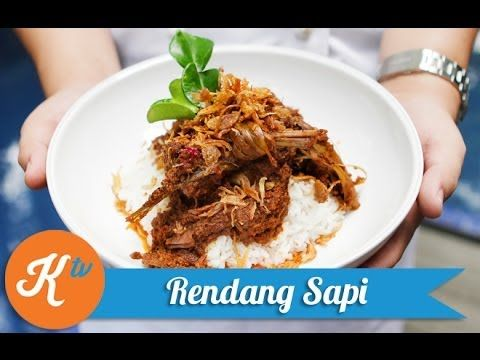 Resep Rendang Sapi (Beef Rendang Recipe Video/Caramelized Beef Curry)   ...
