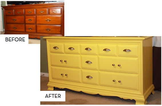 10 Inspiring & DIYable Dresser Makeovers... I want to do this right now!