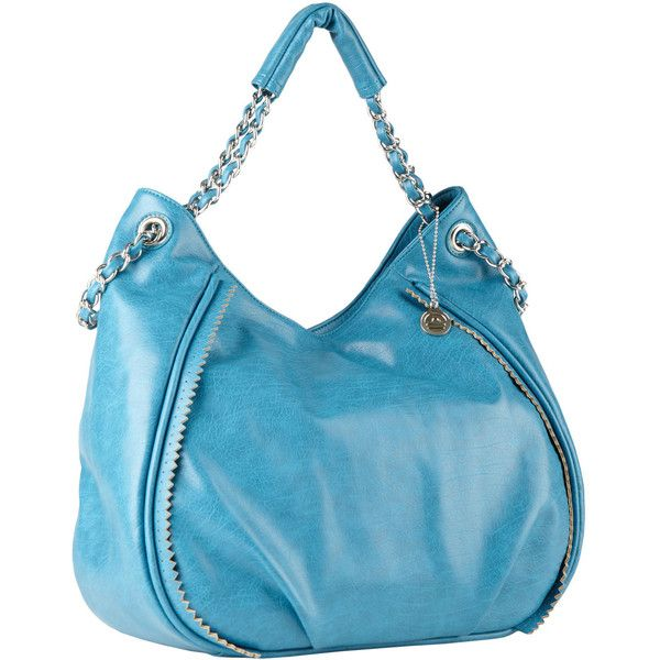 Big Buddha Zepher Hobo Bag (350 BRL) ❤ liked on Polyvore featuring bags, handbags, shoulder bags, purses, borse, purse shoulder bag, blue hand bag, hobo handbags, hobo shoulder handbags and hobo hand bags