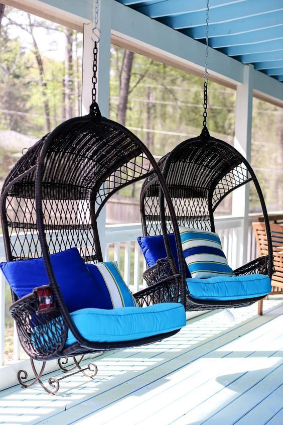 Decorating Ideas for Back Porch with Pier 1 | Porch Decor | Outdoor Decorating Ideas || Happily Hughes