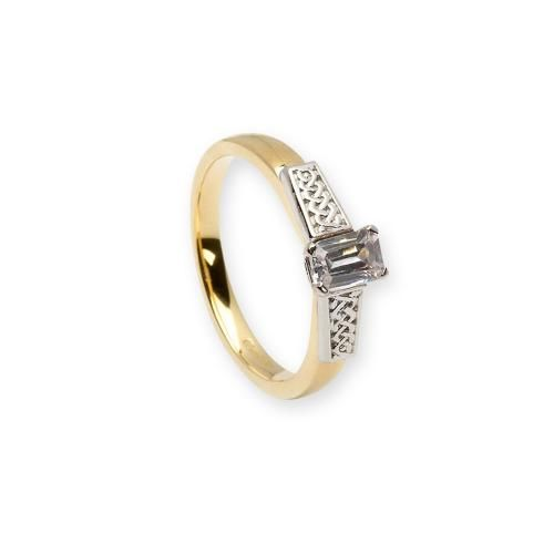 Future Engagement Ring-14K Gold