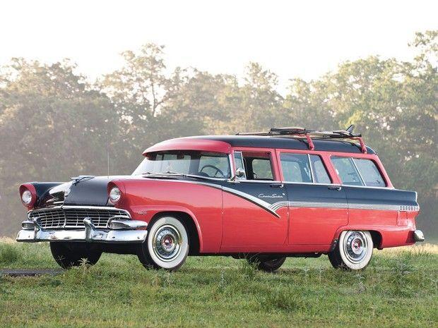 1956 Ford Country Sedan Station Wagon