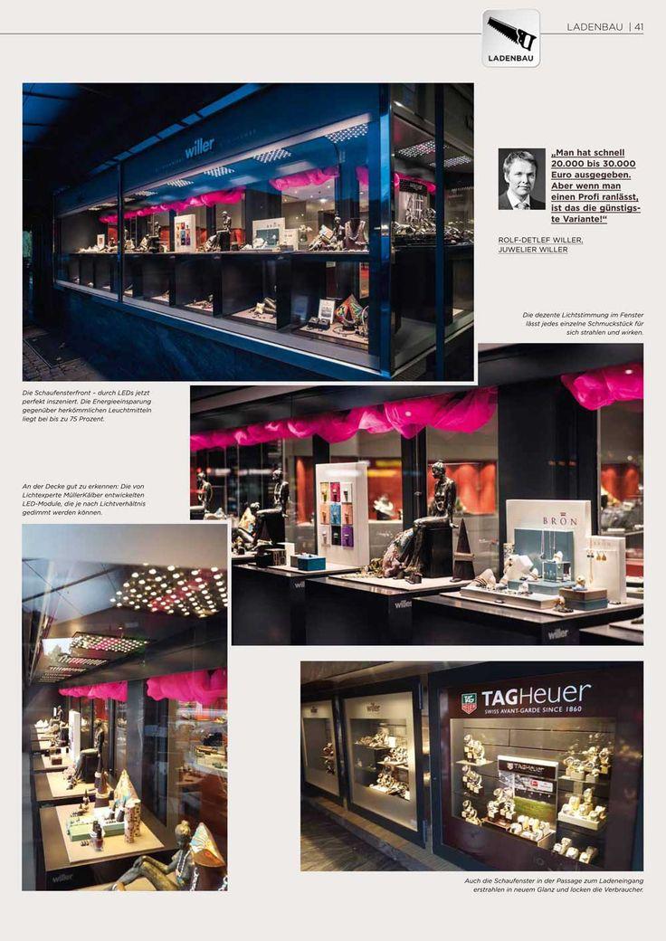 Trend Artikel ber MK OptiLight Window bei Juwelier Willer Hamburg in der Blickpunkt Juwelier VitrinenLed Beleuchtung JuwelierWocheHamburgArtikelArticleHamburg