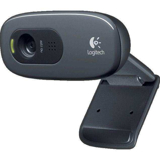 HD Webcam C270  De Logitech HD Webcam C270. Voor draagbare HD-videogesprekken en -opnamen met autofocus. Houd contact met de mensen om wie je geeft in vloeiende HD 720p met autofocus in uw favoriete IM of Logitech Vid HD dankzij Logitech More HD. Upload jouw nieuwste video met 1 klik naar Facebook Twitter of YouTube. Dankzij het opklapbare draaibare ontwerp kan je de webcam gemakkelijk meenemen. Je kan jouw familie en vrienden een 3MP-foto sturen. Fluid Crystal-technologie van Logitech biedt…