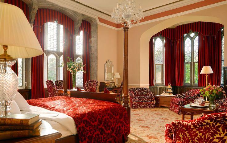 The Dunraven Staterooms. Adare Manor Hotel & Golf Resort, Limerick, Ireland.