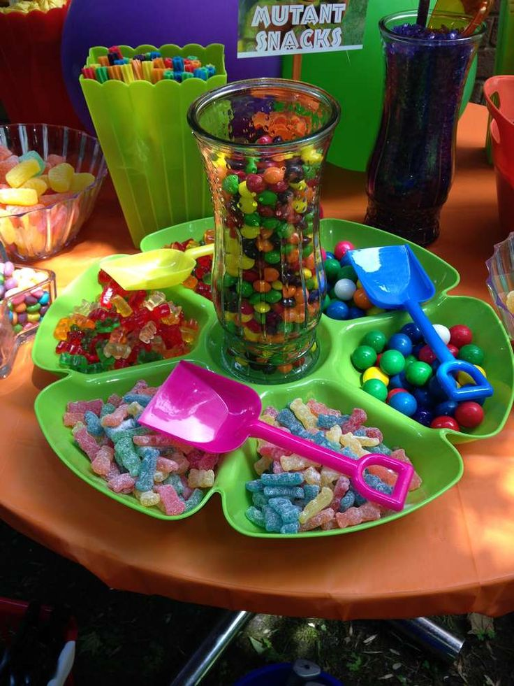 Teenage Mutant Ninja Turtles Birthday Party Ideas | Photo 29 of 76 | Catch My Party