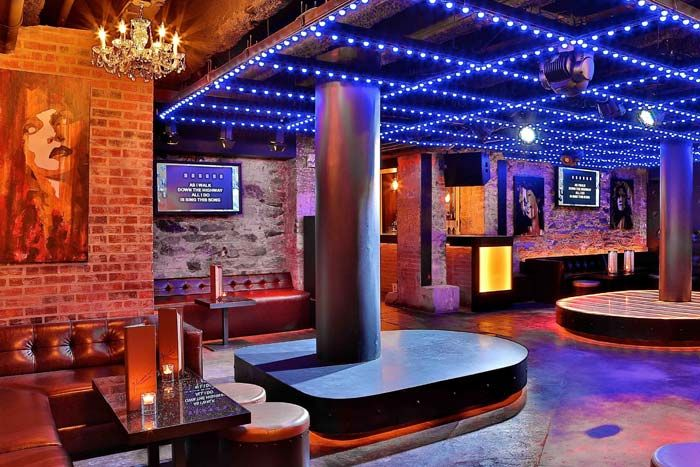 Jelsonimo Russian Karaoke Bar And Lounge Boasts Exposed