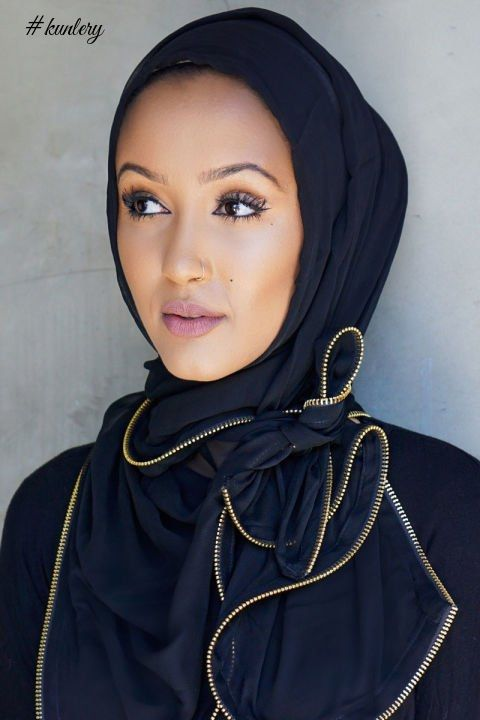 THE HIJAB STYLES THAT WILL SUIT A ROUND FACE