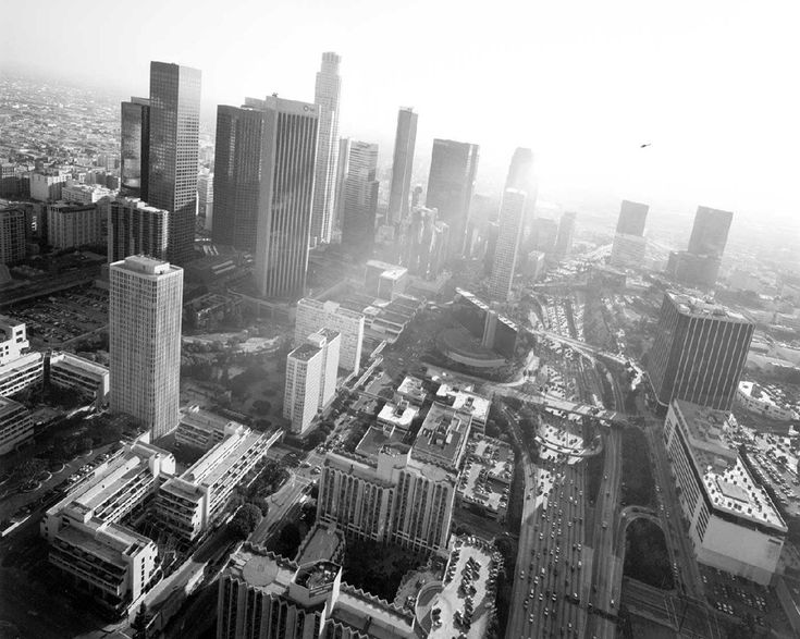 Aerial photograph of Los Angeles by Michael Light