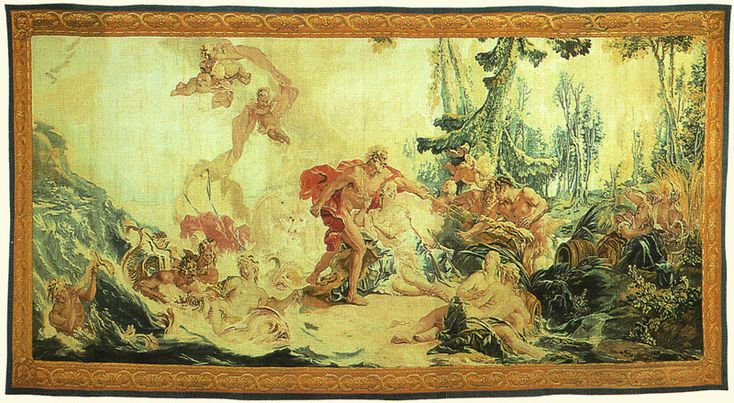 Frangois boucher neptune and anymone from the loves of - Poster decoratif mural ...