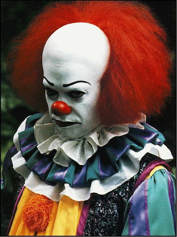 It (1990)  Tim Curry as Pennywise The Dancing Clown.  This is why Stephen King is the best.  Who else could make us hate clowns for the rest of our lives?