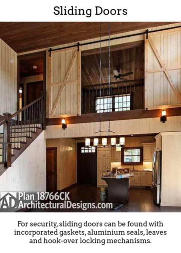 Sliding Doors Produce Your Own High Class Bright Noticeable Rooms By Using Thermally Insulated Gliding And Folding Do Barn House Plans House Pole Barn Homes
