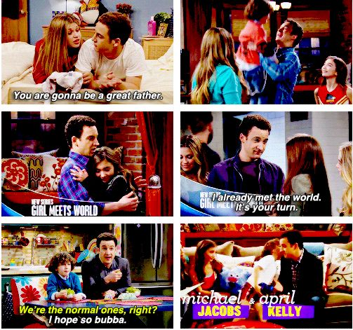 Cory being a Father